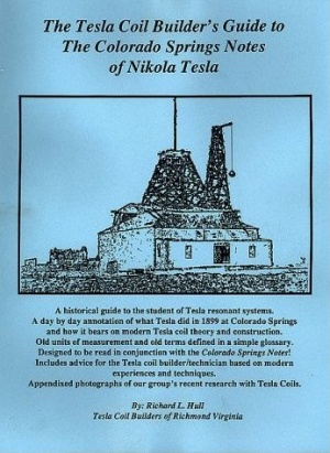 Tesla coil builders guide to the colorado springs notes of nikola tesla coil builders guide to the colorado springs notes of nikola tesla 35g sciox Gallery